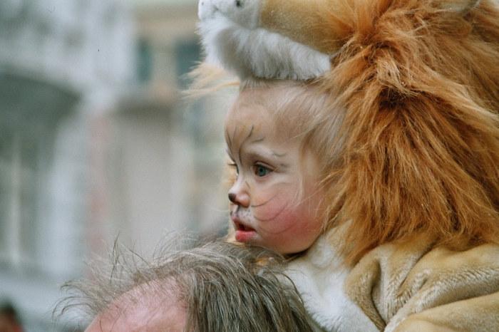 Kleiner Löwe in Graz