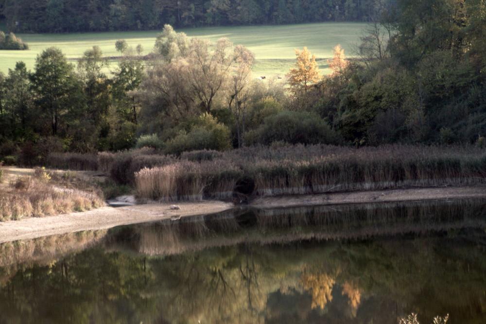 kleiner Stausee bei Donzdorf