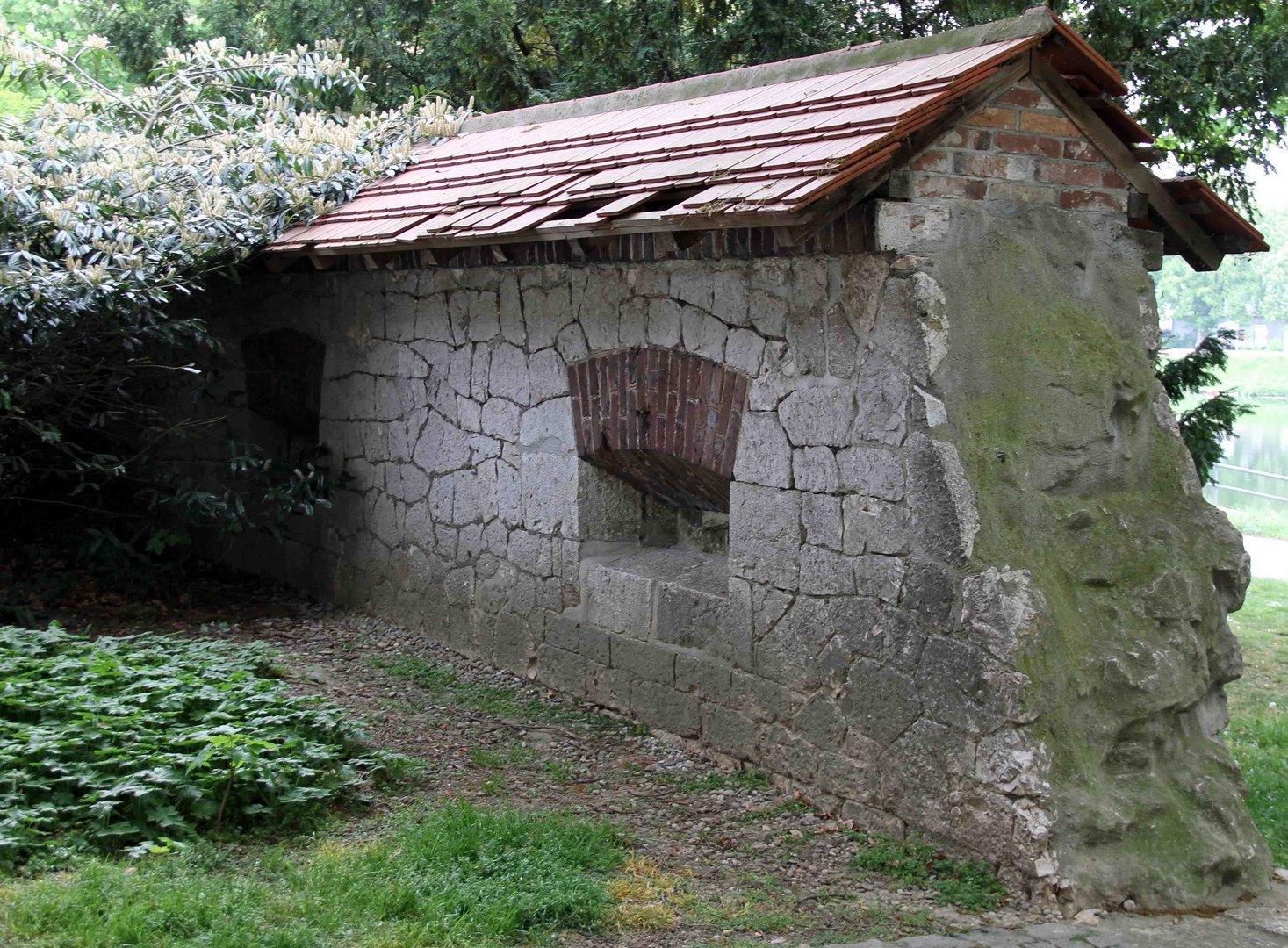 Kleiner Teil der Ulmer Stadtmauer