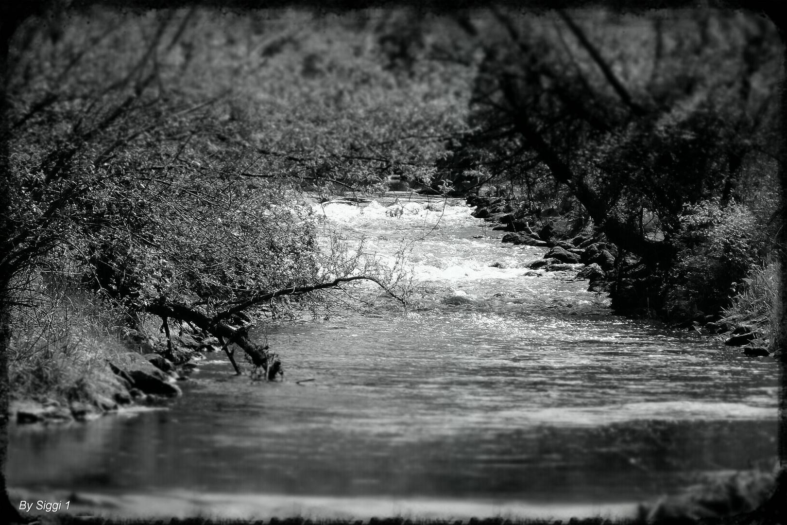 Kleiner Tilt - Shift Wasserfall