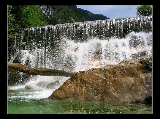 kleiner Wasserfall ganz groß!