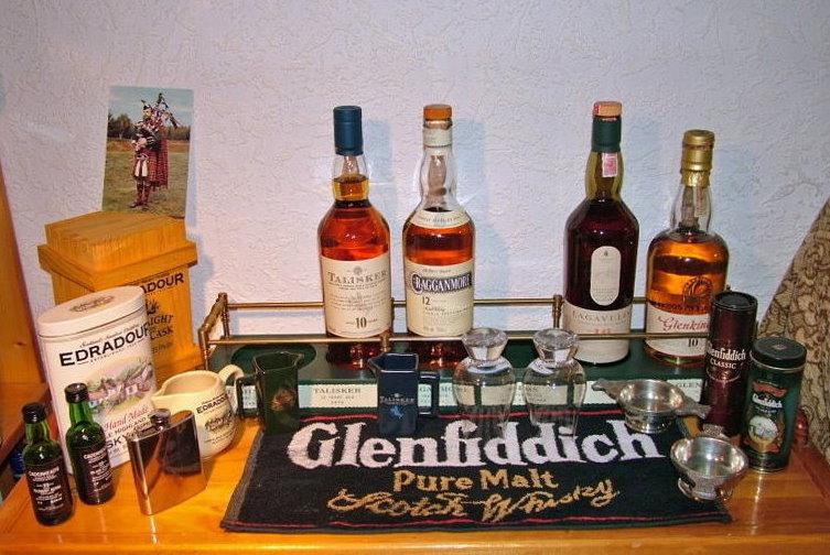 Kleiner Whiskyaltar :-)