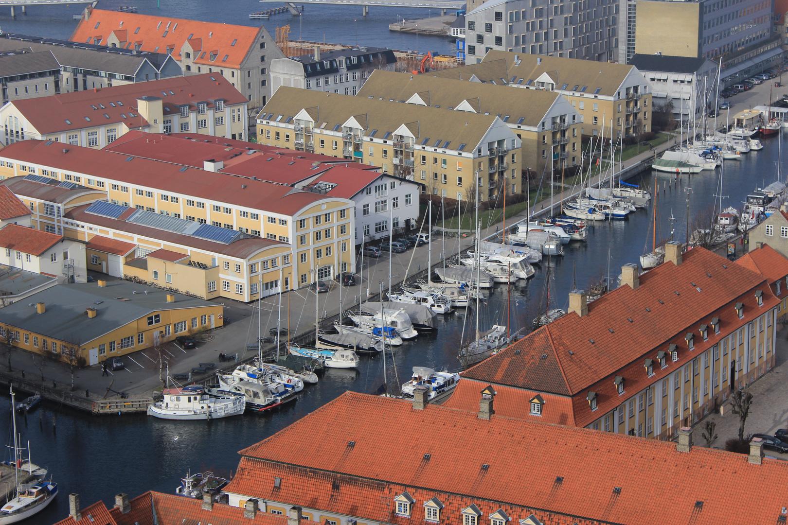 Kleiner Yachthafen