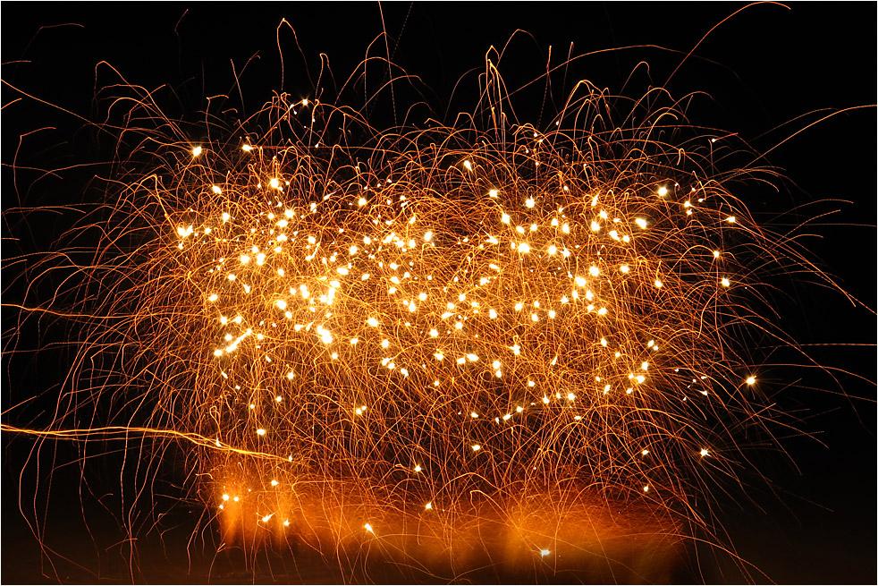 Kleines * * * Feuerwerk * * *