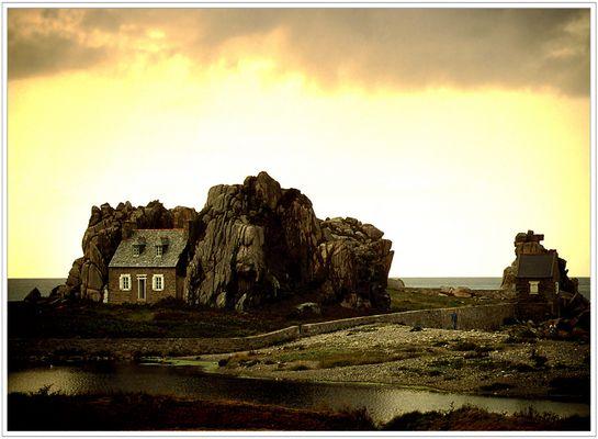Kleines Haus in der Bretagne