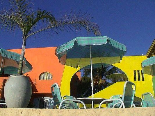 Kleines Hotel auf Mauritius