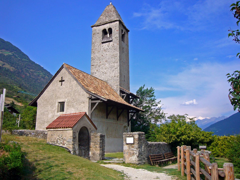 Kleines Kirchlein Sankt Prokulus in Naturns