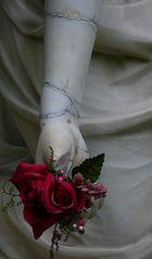 """Kleinigkeiten 8: """"nur eine Rose als Stütze"""""""