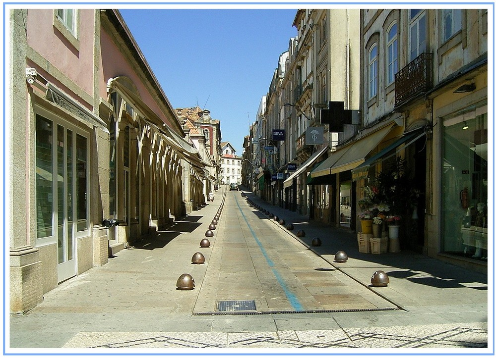 Kleinstadt in Portugal