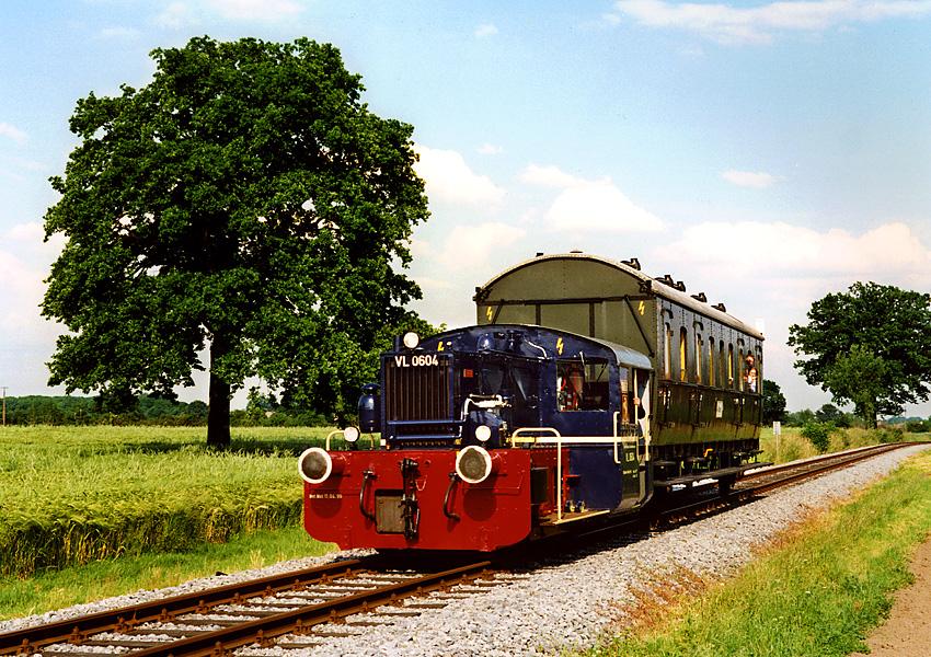 Kleinstbahn im Münsterland