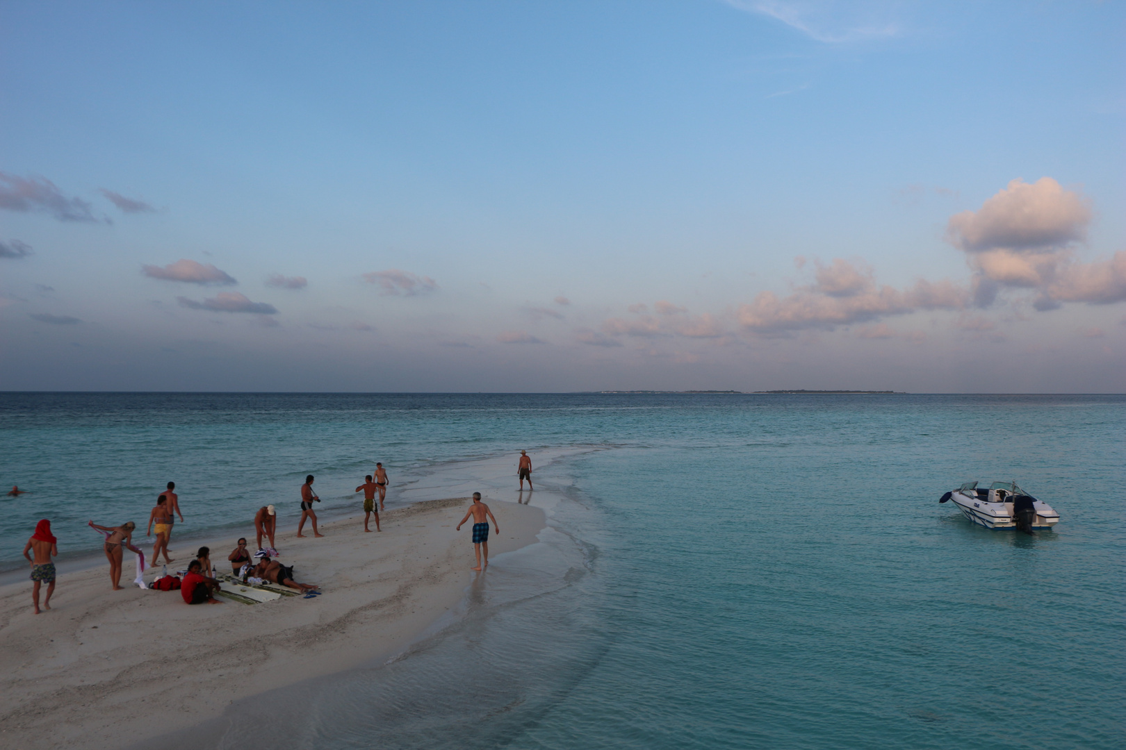 kleinste Insel in den Malediven