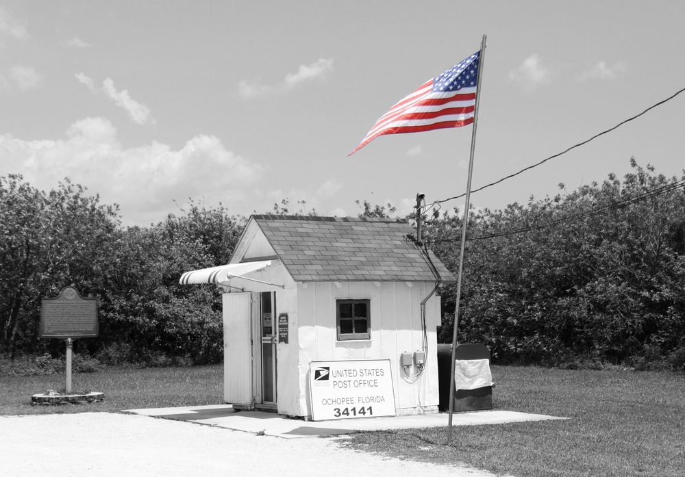 Kleinste Postamt in den USA
