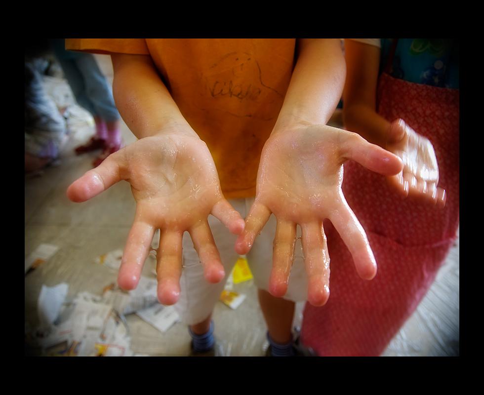 Kleisterhände