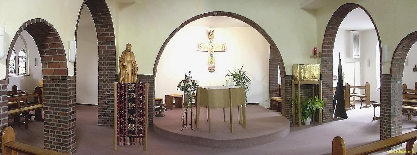 KLEMENSKLOSTER DER REDEMPTORISTEN - heute Jugendkloster, Kirchhellen