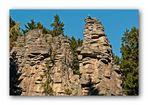 Kletterer an denTeufelssteinen