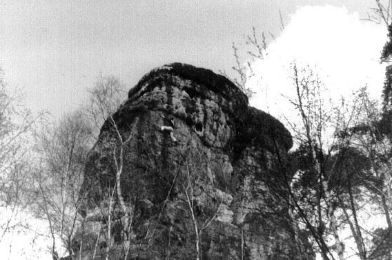 Klettern an der Nonne