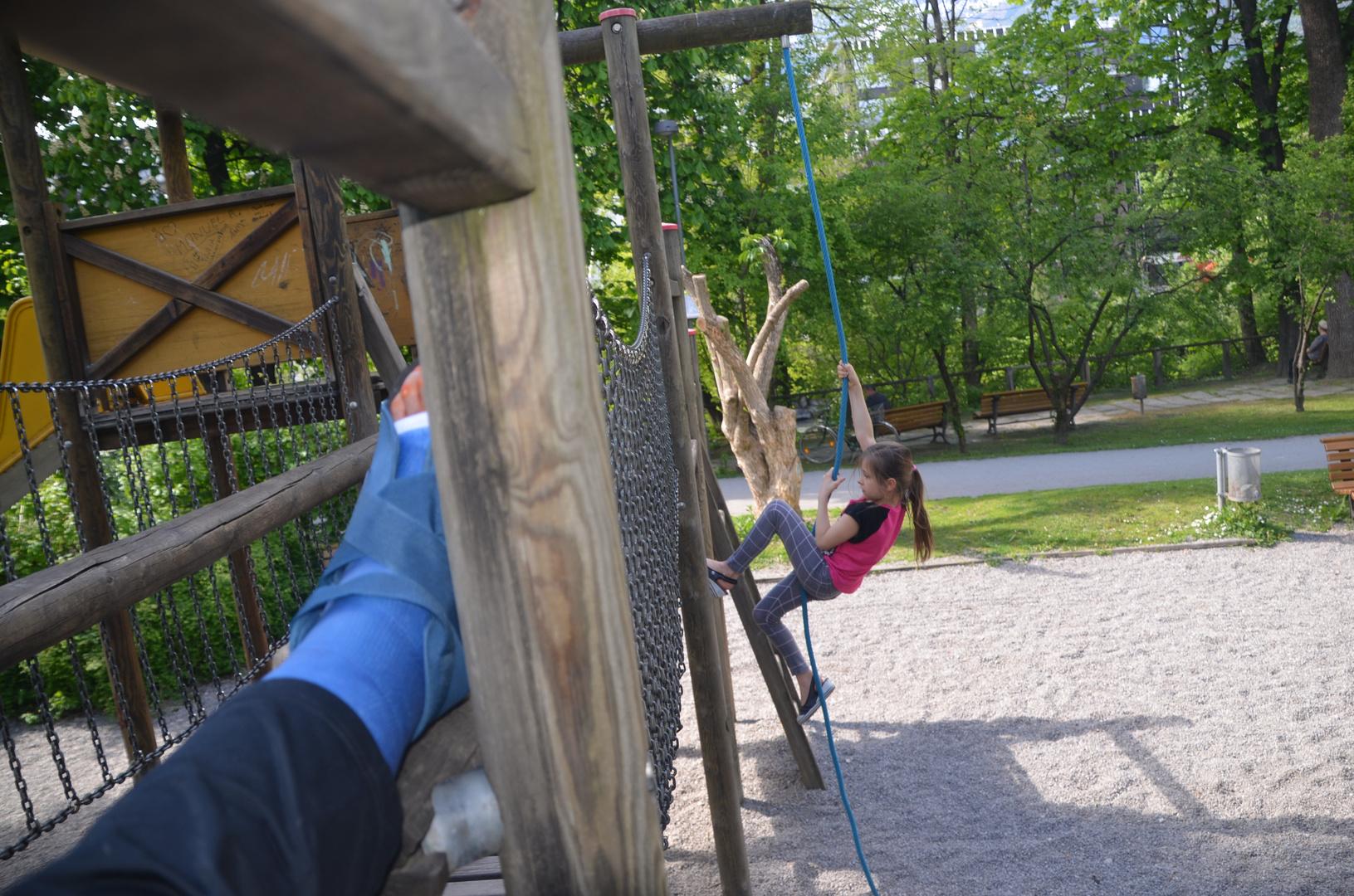 Klettern für Klein und Groß ;-)