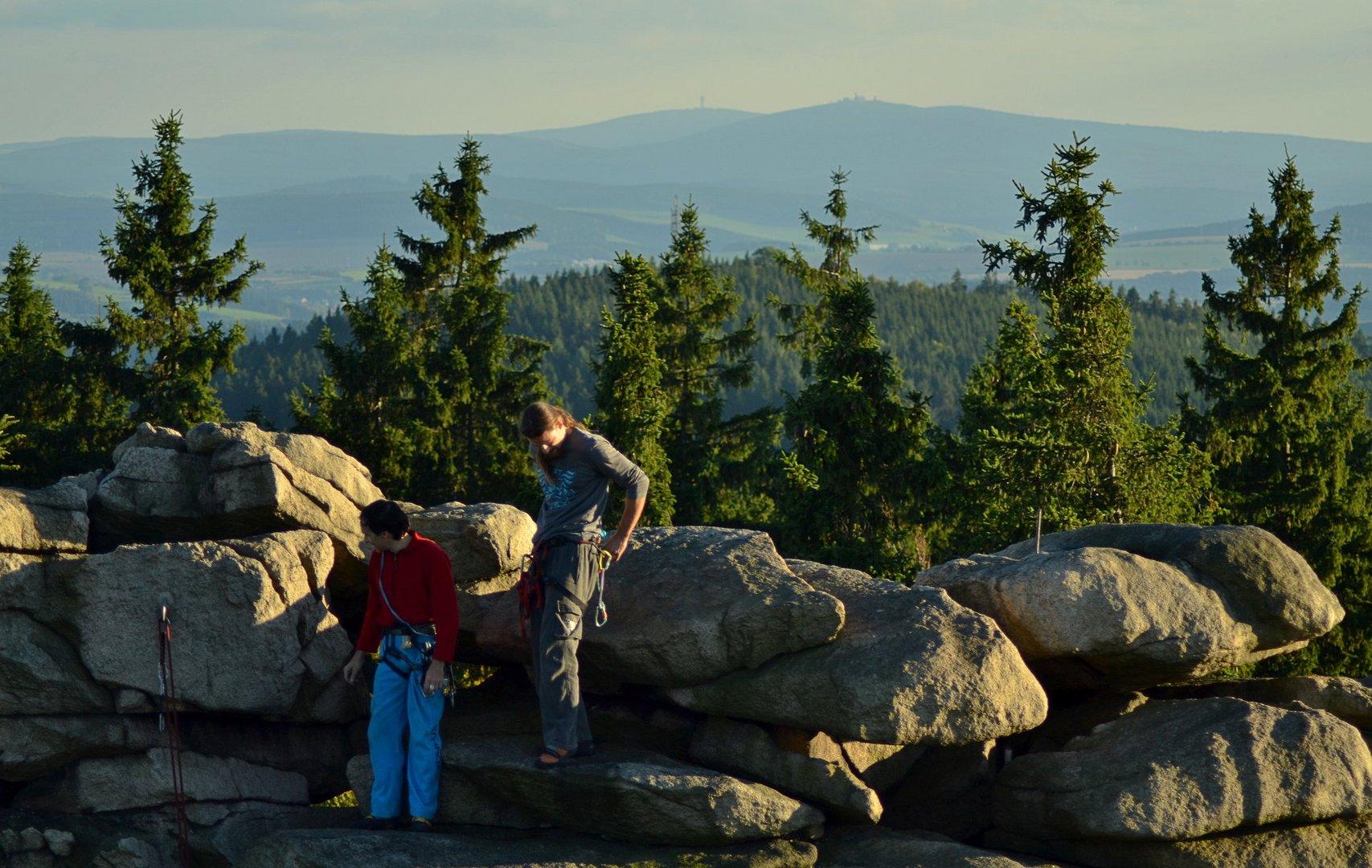 Klettern mit Ausblick
