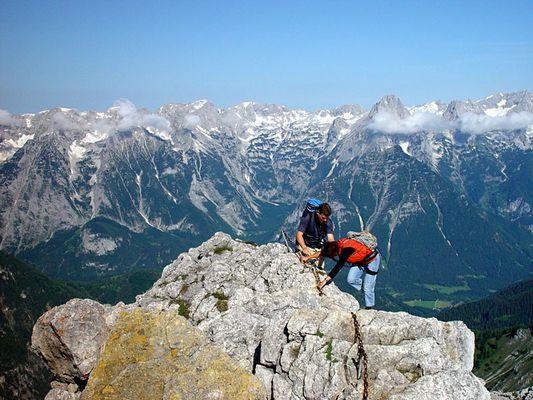 Klettersteig ...