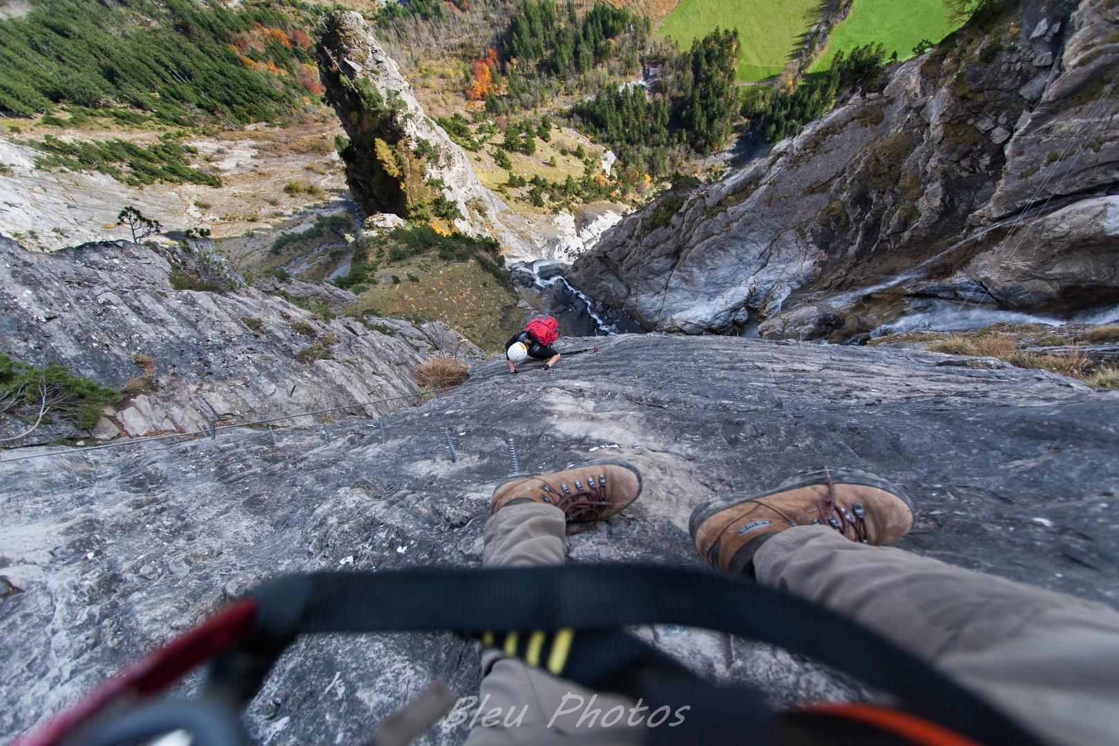 Klettersteig Kandersteg