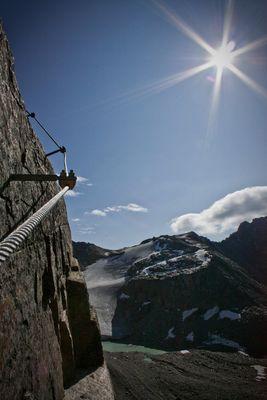Klettersteig Tschenglser Hochwand 3375 m