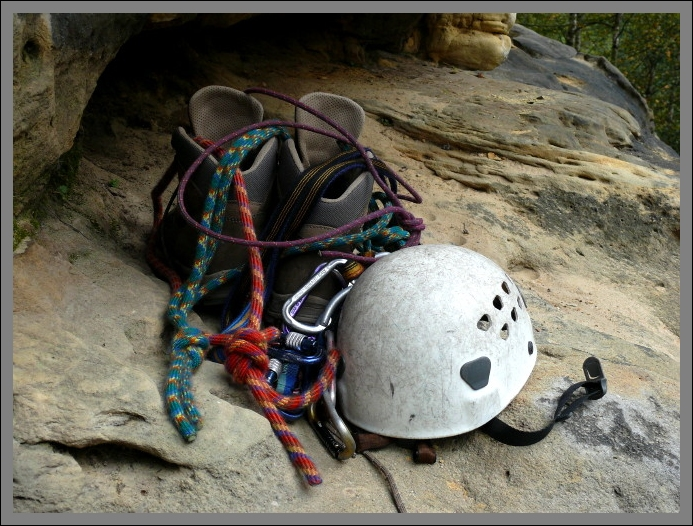Kletterutensilien