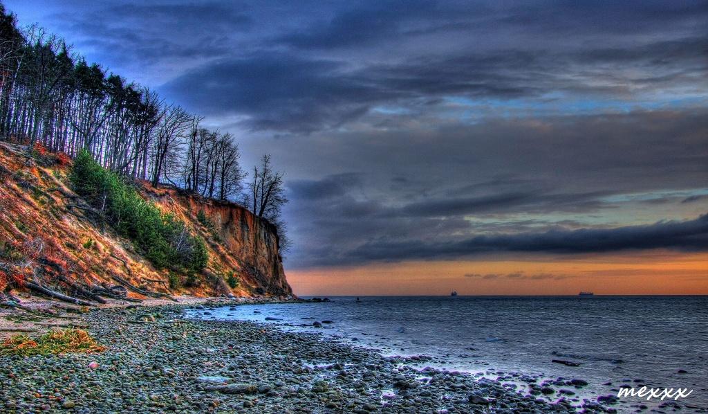 Kliff in Gdingen