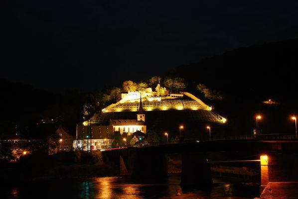 Klingenberg am Main bei Nacht