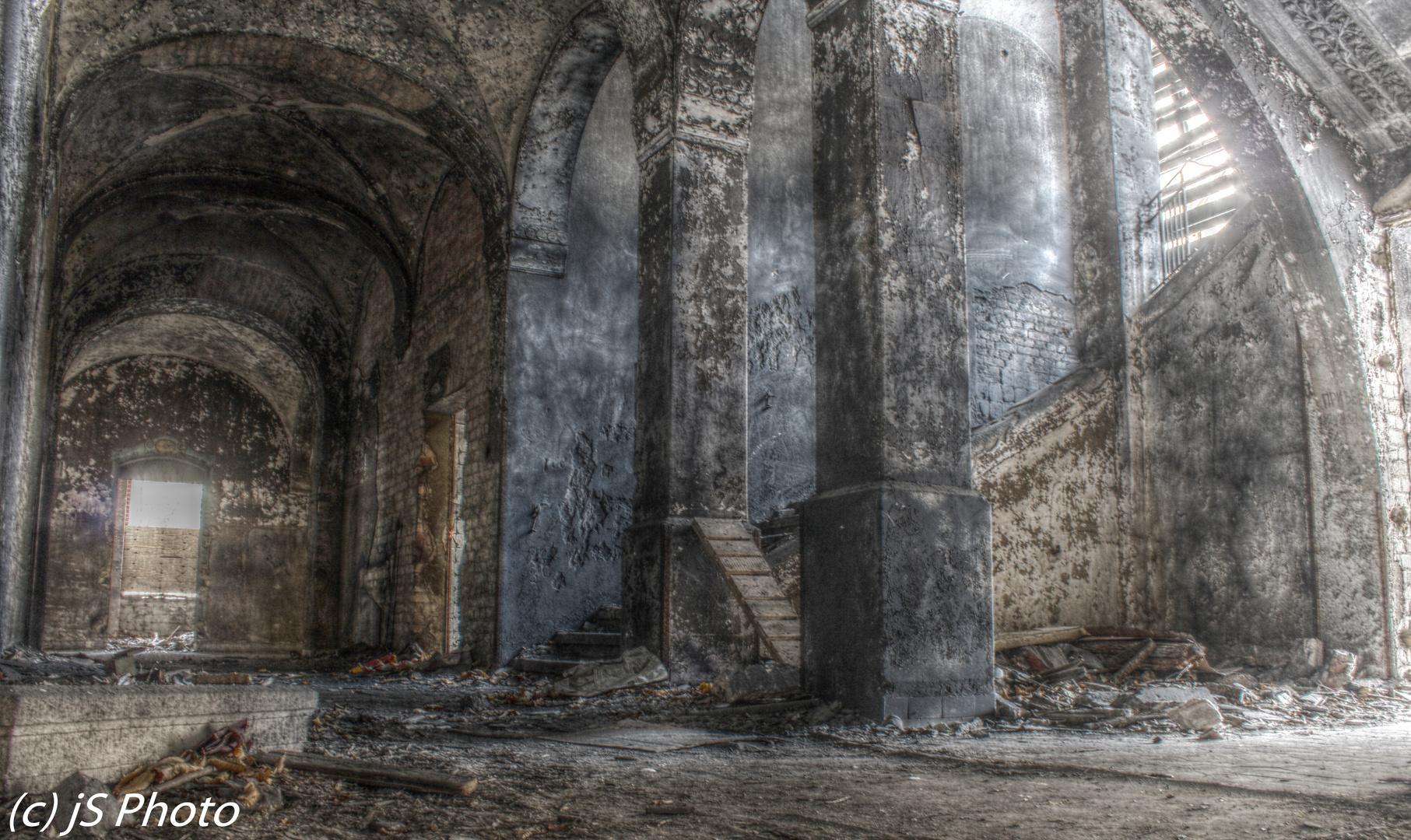 Klinik in Brandenburg,...vergessene Orte