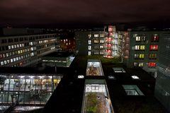 Klinikum Nürnberg Nord zu Nacht (1)