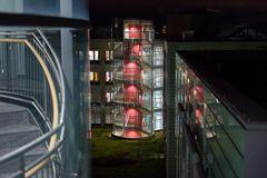 Klinikum Nürnberg Nord zu Nacht (2)