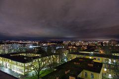 Klinikum Nürnberg Nord zu Nacht (3)
