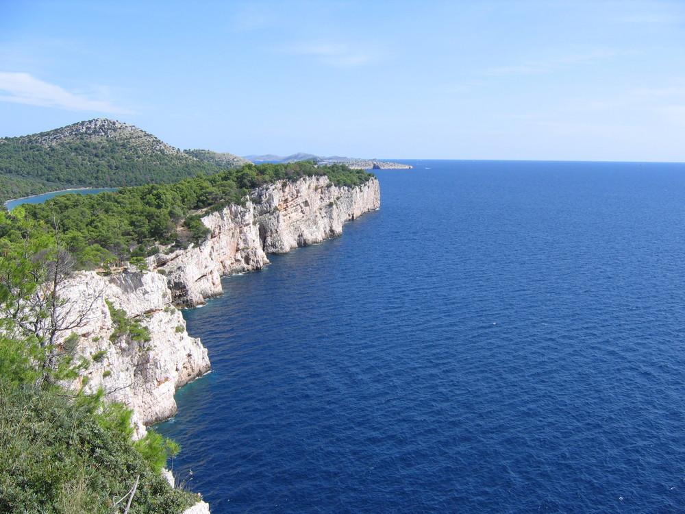 Klippe in Kroatien