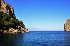 Klippe von Mallorca Nordküste