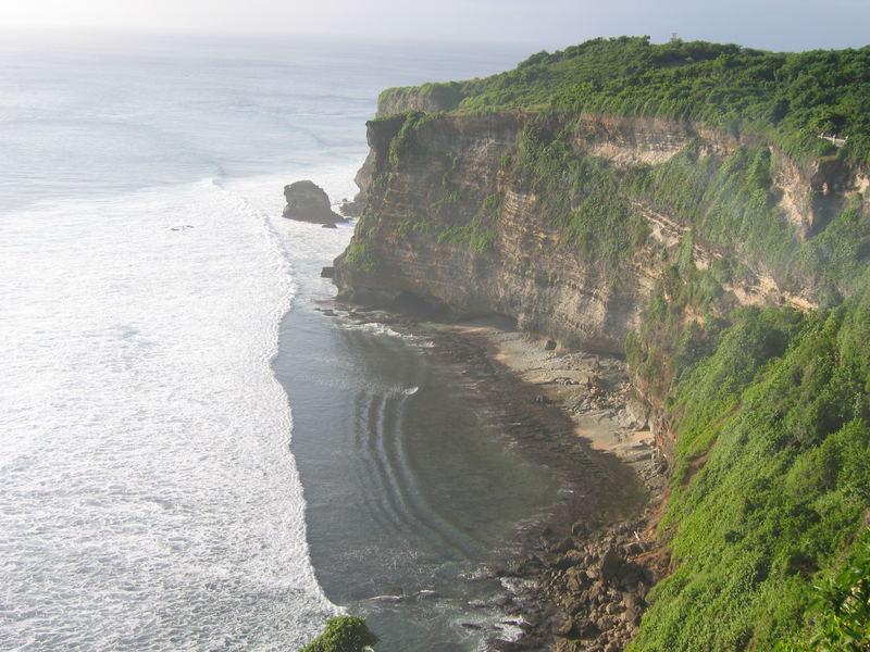 klippen in Ulu Watu