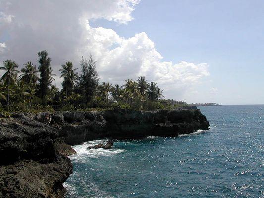 Klippen von Santo Domingo
