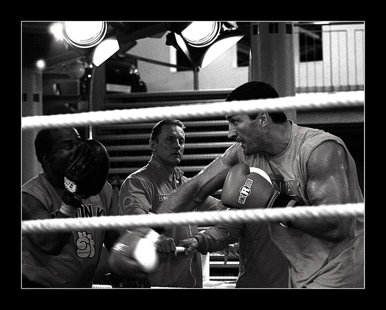 KlitschkO beim PR-Training