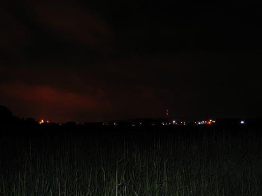 Klleve bei Nacht