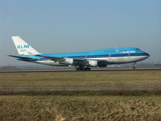 KLM asia - Boing 747-400