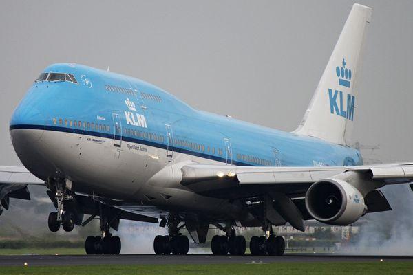 KLM B744