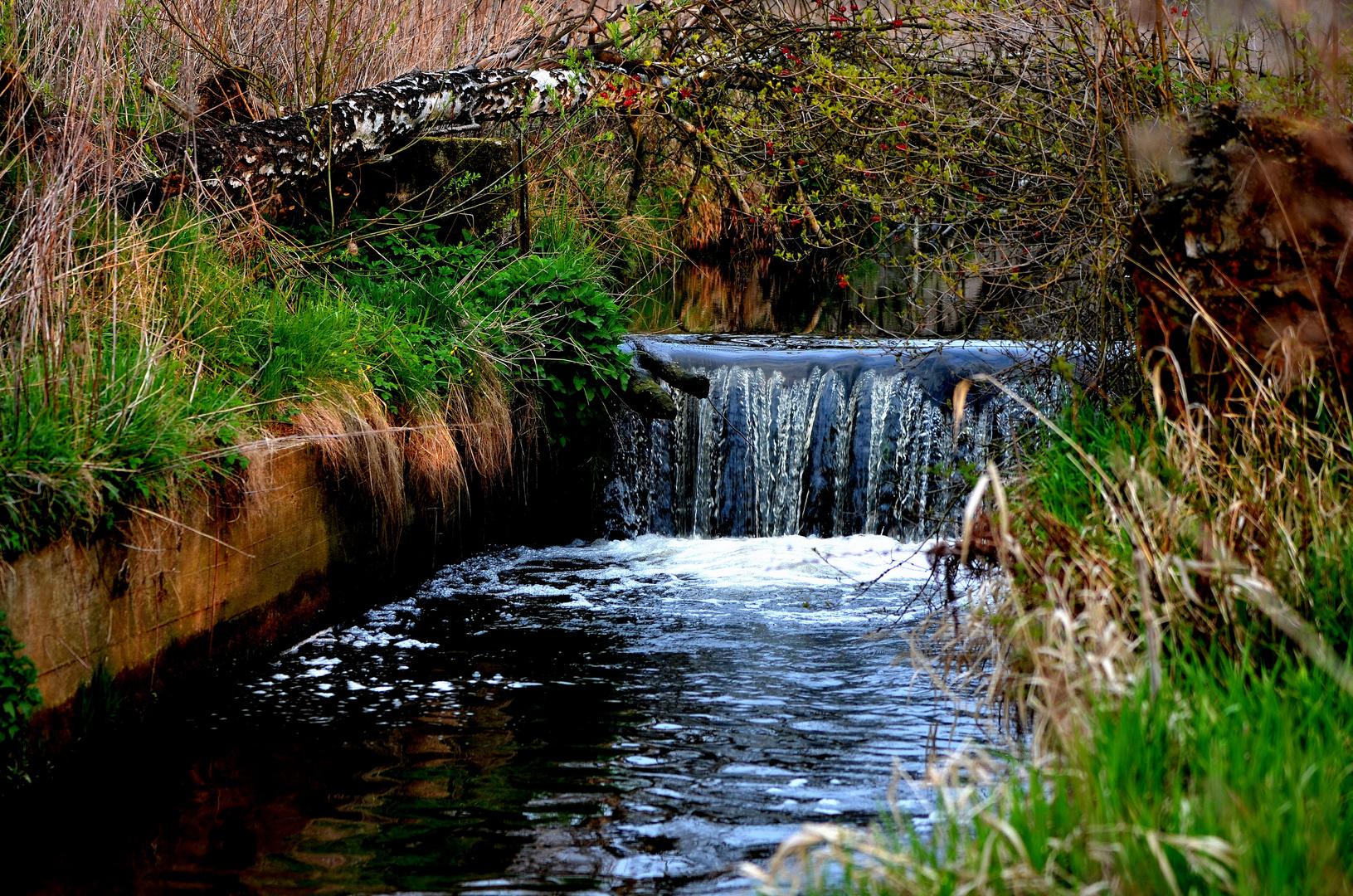 Klokocinka Fluss in Rybnik
