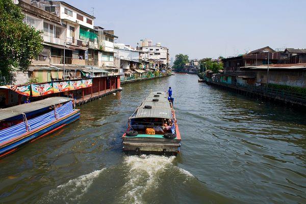 Klong in Bangkok