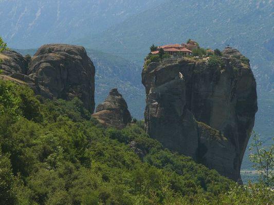 Kloster Agias Trias in Meteora