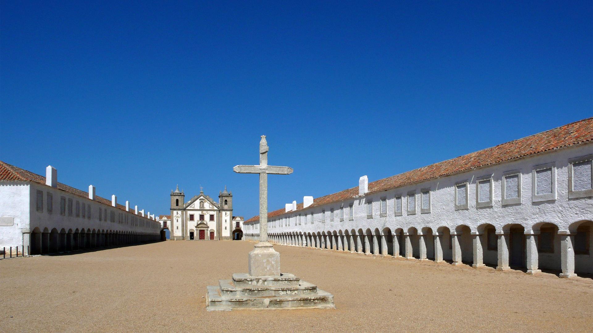 Kloster auf Cabo Espichel (Portugal)