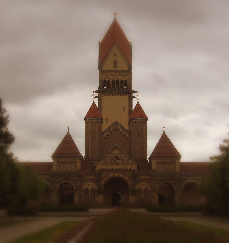 Kloster auf dem Friedhof zu Leipzig