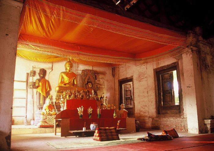 Kloster auf Don Khong, 4000 islands