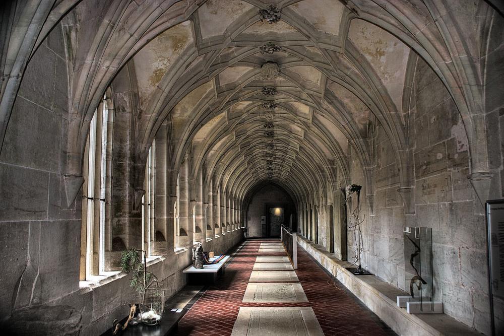 """.......""""Kloster Bebenhausen......Kreuzgang........""""!"""