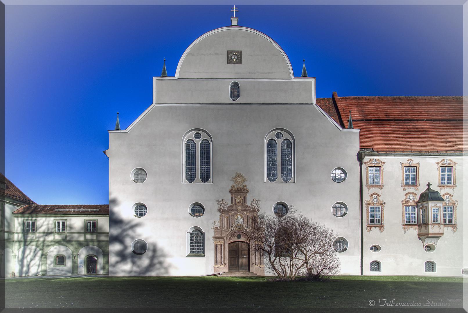 Kloster Benediktbeuern Innenhof HDR I