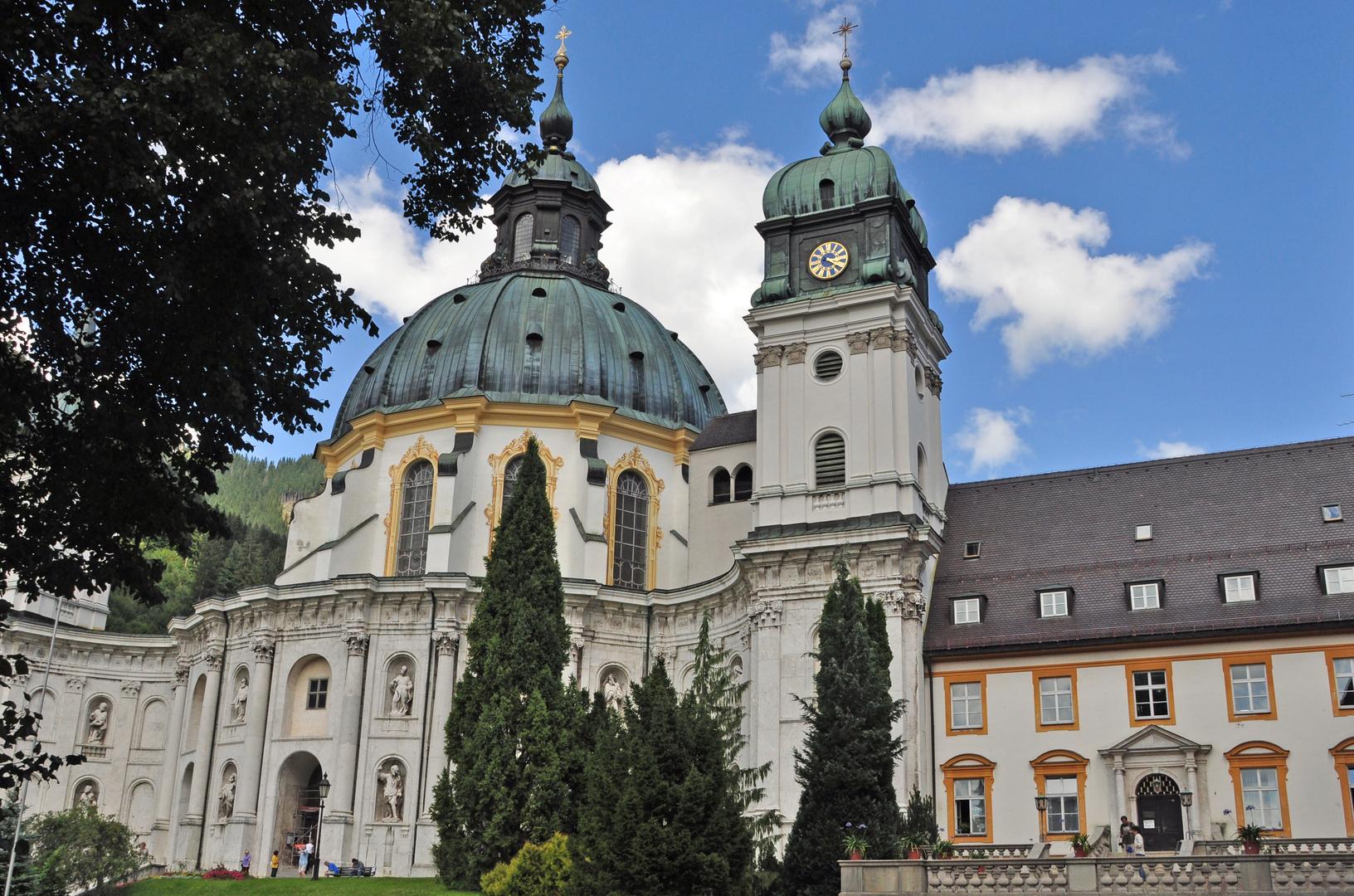 Kloster Ettal in der Nähe von Garmisch