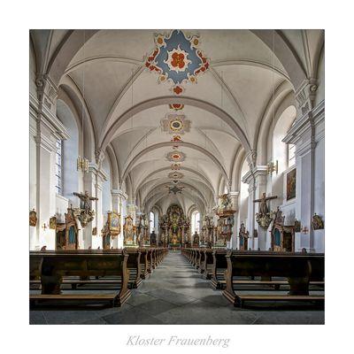 "Kloster Frauenberg - Fulda "" Blick zum Chor..."""